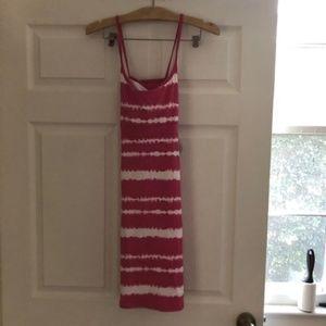 Lola NWT Pink Tie Dye Dress